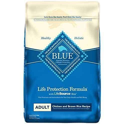 Blue Buffalo Life Protection Formula Natural Adult Dry Dog Food [Chicken & Brown Rice Recipe], 30 lbs. - S&S $32.49