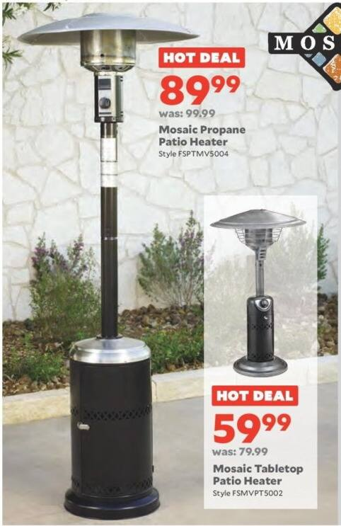 Mosaic Propane Patio Heater Reviews Crunchymustard