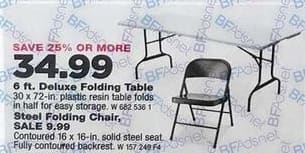 True Value Black Friday: Steel Folding Chair for $9.99