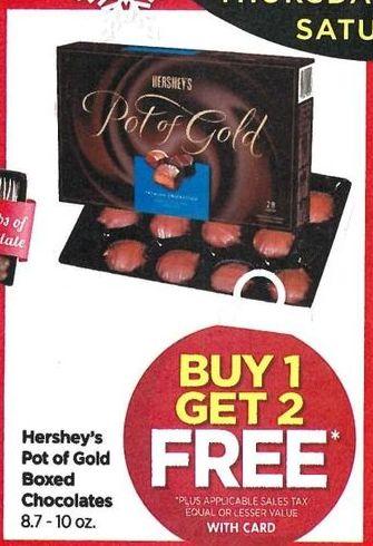 Rite Aid Black Friday: Hershey's Pot Of Gold Chocolates - B1G2 Free w/Card