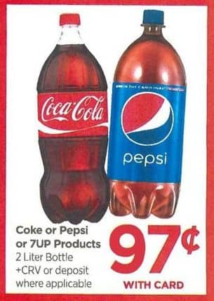 Rite Aid Black Friday: 7Up Products 2 Liter - .97 w/Card