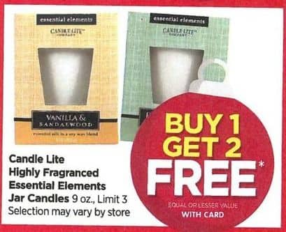 Rite Aid Black Friday: Candle Lite Highly Fragrance Candles - B1G2 Free