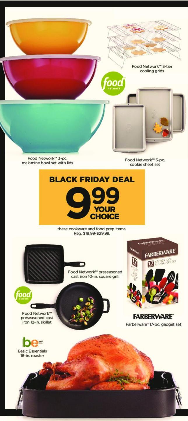 Kohl's Black Friday: Food Network 3-pc. Melamine Bowl Set w/ Lids for $9.99