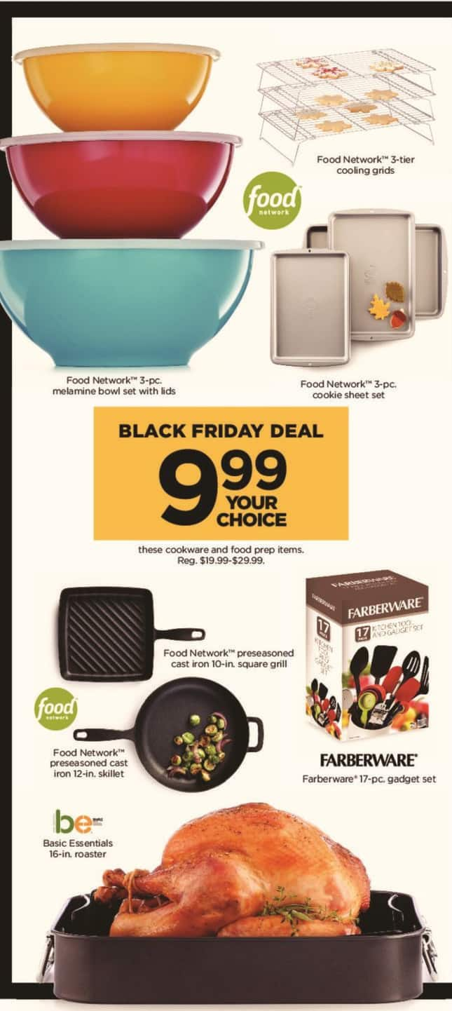 Kohl's Black Friday: Farberware 17-pc. Gadget Set for $9.99