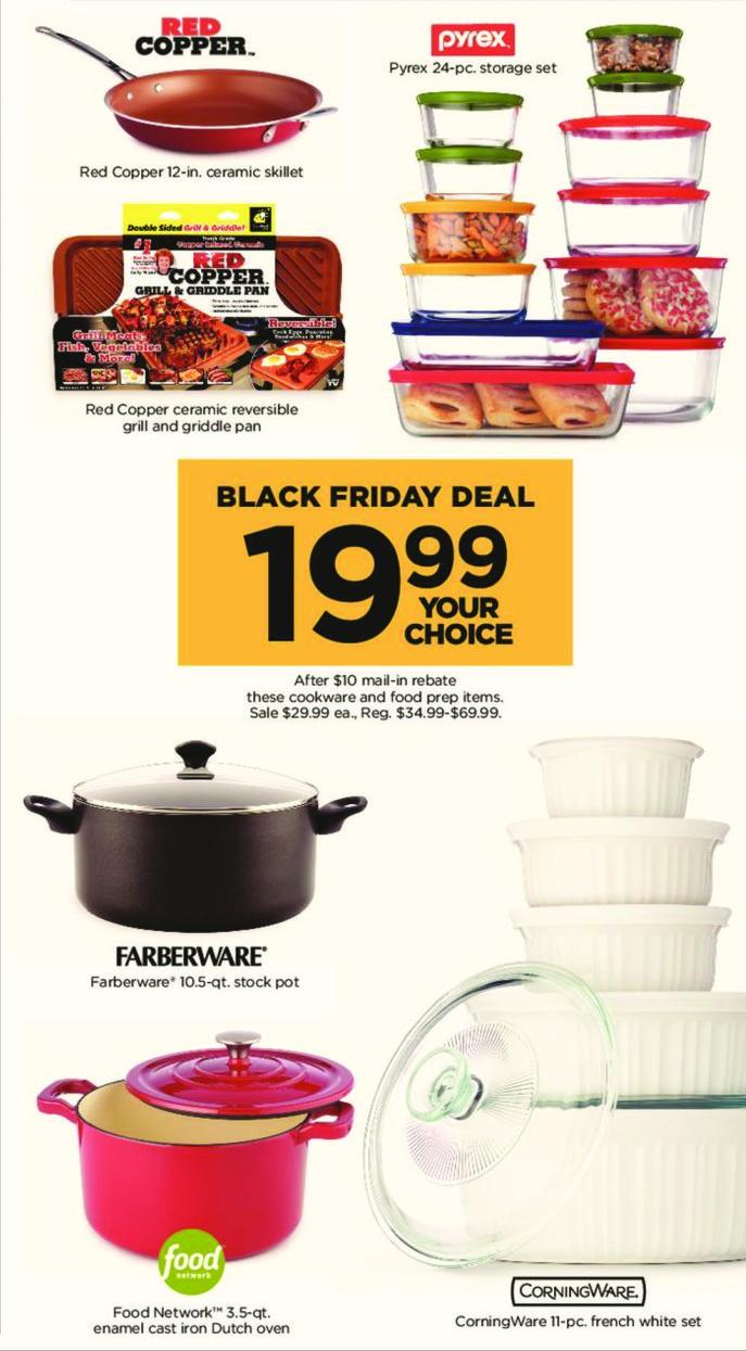 Kohl's Black Friday: Farberware 10.5-qt. Stock Pot for $19.99 after $10 rebate