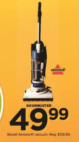 Kohl's Black Friday: Bissell Aeroswift Vacuum for $49.99
