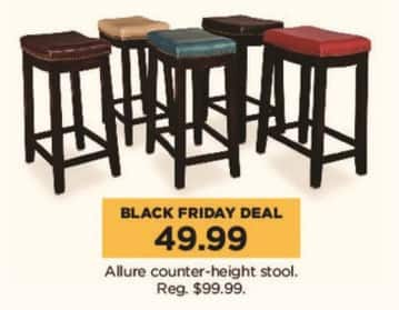Kohl's Black Friday: Allure Counter-Height Stool for $49.99