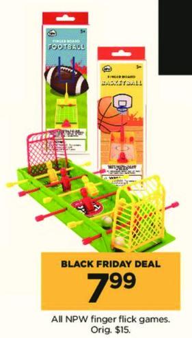 Kohl's Black Friday: All NPW Finger Flick Games for $7.99