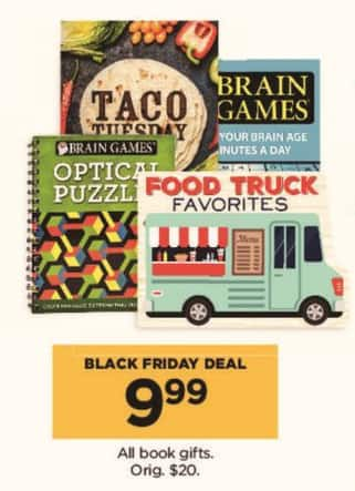Kohl's Black Friday: All Book Gifts for $9.99