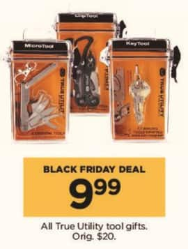 Kohl's Black Friday: All True Utility Tool Gifts for $9.99