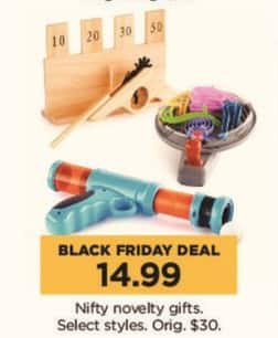 Kohl's Black Friday: Nifty Novelty Gifts, Select Styles for $14.99