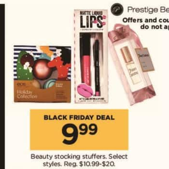 Kohl's Black Friday: Beauty Stocking Stuffers, Select Styles for $9.99