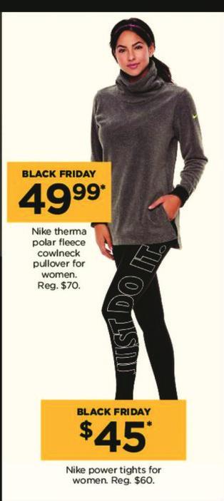 Kohl's Black Friday: Nike Women's Power Tights for $45.00