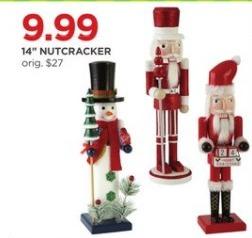 """JCPenney Black Friday: 14"""" Nutcracker for $9.99"""