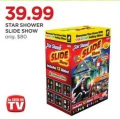 JCPenney Black Friday: Star Shower Slide Show for $39.99
