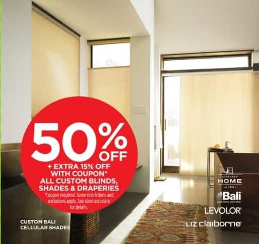 Jcpenney Black Friday All Custom Blinds Shades And