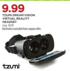 JCPenney Black Friday: Tzumi Dream Vision Virtual Reality Headset for $9.99