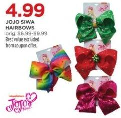 JCPenney Black Friday: JoJo Siwa Hairbows for $4.99