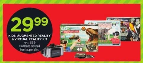 JCPenney Black Friday: Kids' Augmented Reality and Virtual Reality Kit for $29.99
