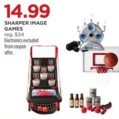 JCPenney Black Friday: Sharper Image Games for $14.99