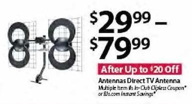 BJs Wholesale Black Friday: Antennas Direct TV Antenna for $29.99 - $79.99