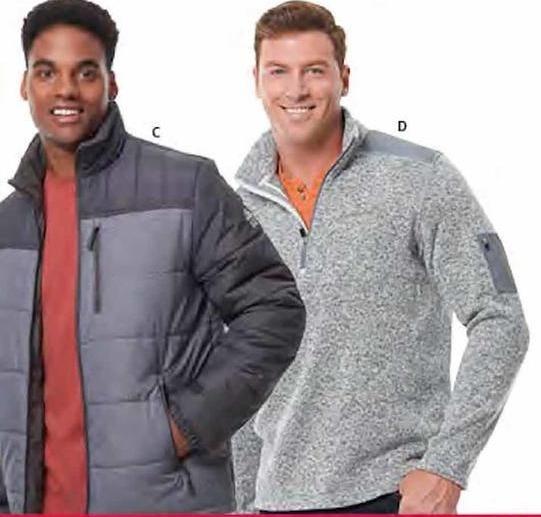 BJs Wholesale Black Friday: River Edge Men's Puffer Jacket for $19.99