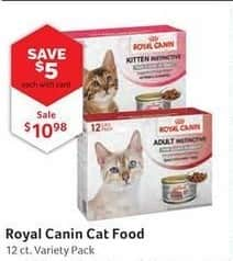 Pet Supplies Plus Black Friday: Royal Canin Cat Food, w/Card for $10.98