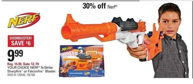 Shopko Black Friday: Nerf N-Strike Sharpfire or Falconfire Blaster for $9.99