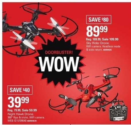Shopko Black Friday: Night Hawk Drone for $39.99