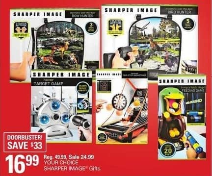Shopko Black Friday: Select Sharper Image Gifts, Your Choice for $16.99