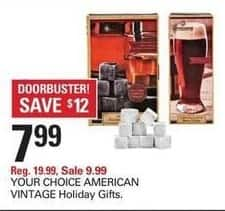 Shopko Black Friday: American Vintage Holiday Gifts, Your Choice for $7.99