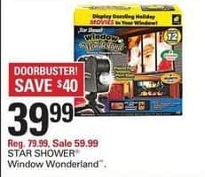 Shopko Black Friday: Star Shower Window Wonderland for $39.99