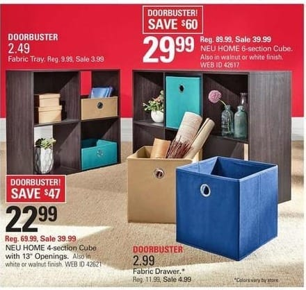 Shopko Black Friday: Neu Home 6-Section Cube for $29.99