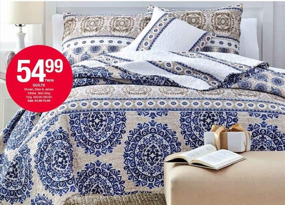 Belk Black Friday: Select Quilts (Twin - King) for $54.99 - $74.99