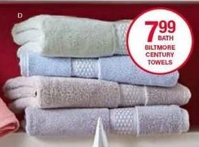 Belk Black Friday: Biltmore Century Towels for $4.99 - $7.99