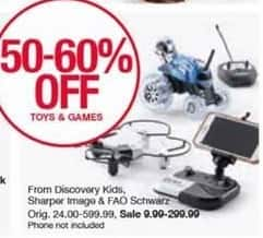 Belk Black Friday: Entire Stock Discovery Kids Toys - 50 - 60% Off