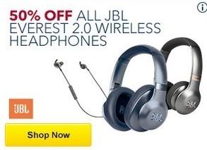 Best Buy Black Friday: All JBL Everest 2.0 Wireless Headphones - 50% Off