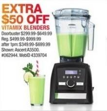 Macy's Black Friday: Vitamix Blenders - 50% Off