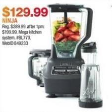 Macy's Black Friday: Ninja Mega Kitchen System for $129.99
