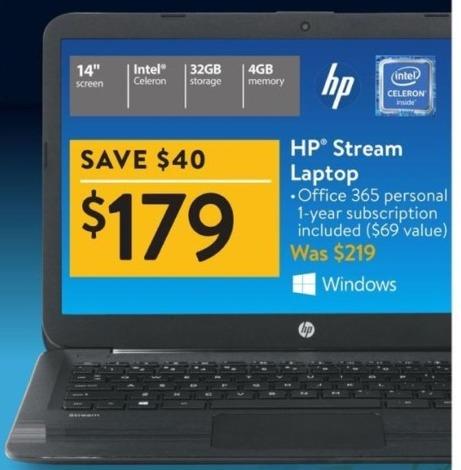 Walmart Black Friday: HP Stream 14