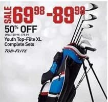 Dicks Sporting Goods Black Friday: Top-Flite Youth XL Complete Sets for $69.98 - $89.98