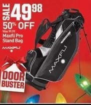 Dicks Sporting Goods Black Friday: Maxfli Pro Stand Bag for $49.98