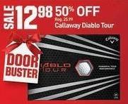 Dicks Sporting Goods Black Friday: Callaway Diablo Tour for $12.98