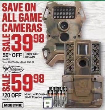 Dicks Sporting Goods Black Friday: Moultrie 35 Series 14MP Combos for $59.98