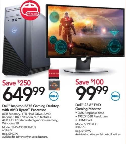 "Office Depot and OfficeMax Black Friday: Dell SE2417HG 23.6"" FHD Gaming Monitor for $99.99"