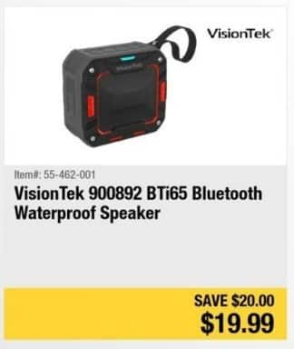 Newegg Black Friday: VisionTek 900892 BTi65 Bluetooth Waterproof Speaker for $19.99