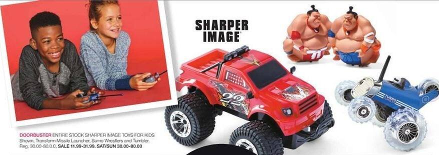 Stage Stores Black Friday: Entire Stock Sharper Image Toys for $11.99 - $31.99