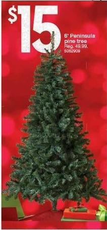 Kmart Black Friday: 6' Peninsula Pine Tree for $15.00