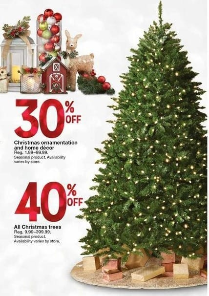kmart black friday all christmas trees 40 off - Christmas Tree Black Friday