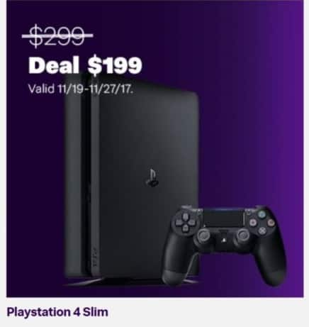 Jet.com Black Friday: Playstation 4 Slim for $199.00
